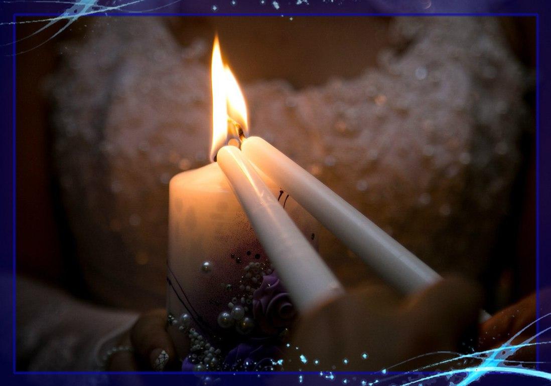 обряд зажжения очага, ведущие Артём и Таня Порубовы