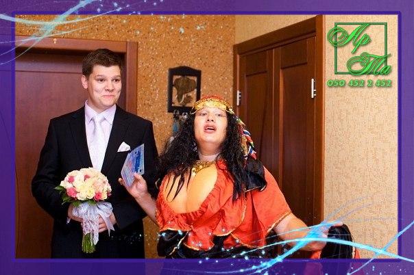 Выкуп невесты на дому - Цыганка Аза. Свадьба Антона и Инессы
