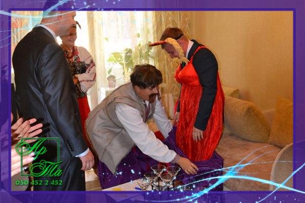 Выкуп невесты на дому - Пан Голова и Солоха. Свадьба Ани и Стаса