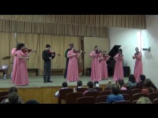 Танец из балета «Тропою грома» - анс. ст. классов