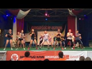 Я с Полиной взрываем танцпол!!!