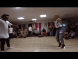 Fredy Clan & Diana Rodriguez en Dance up Studio