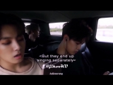 jikook sharing earphone