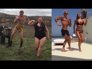 Лучшая пародия на танцующего миллионера