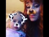 Niece takes snapchat action very seriously ?Племянница очень серьезно относится к снэпчат действий ?