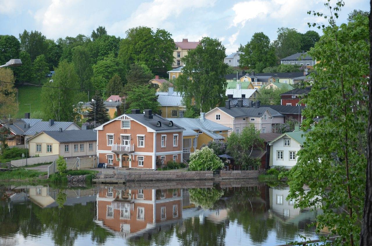 4STv31sFqV4 Порвоо - самый красивый средневековый город Финляндии.