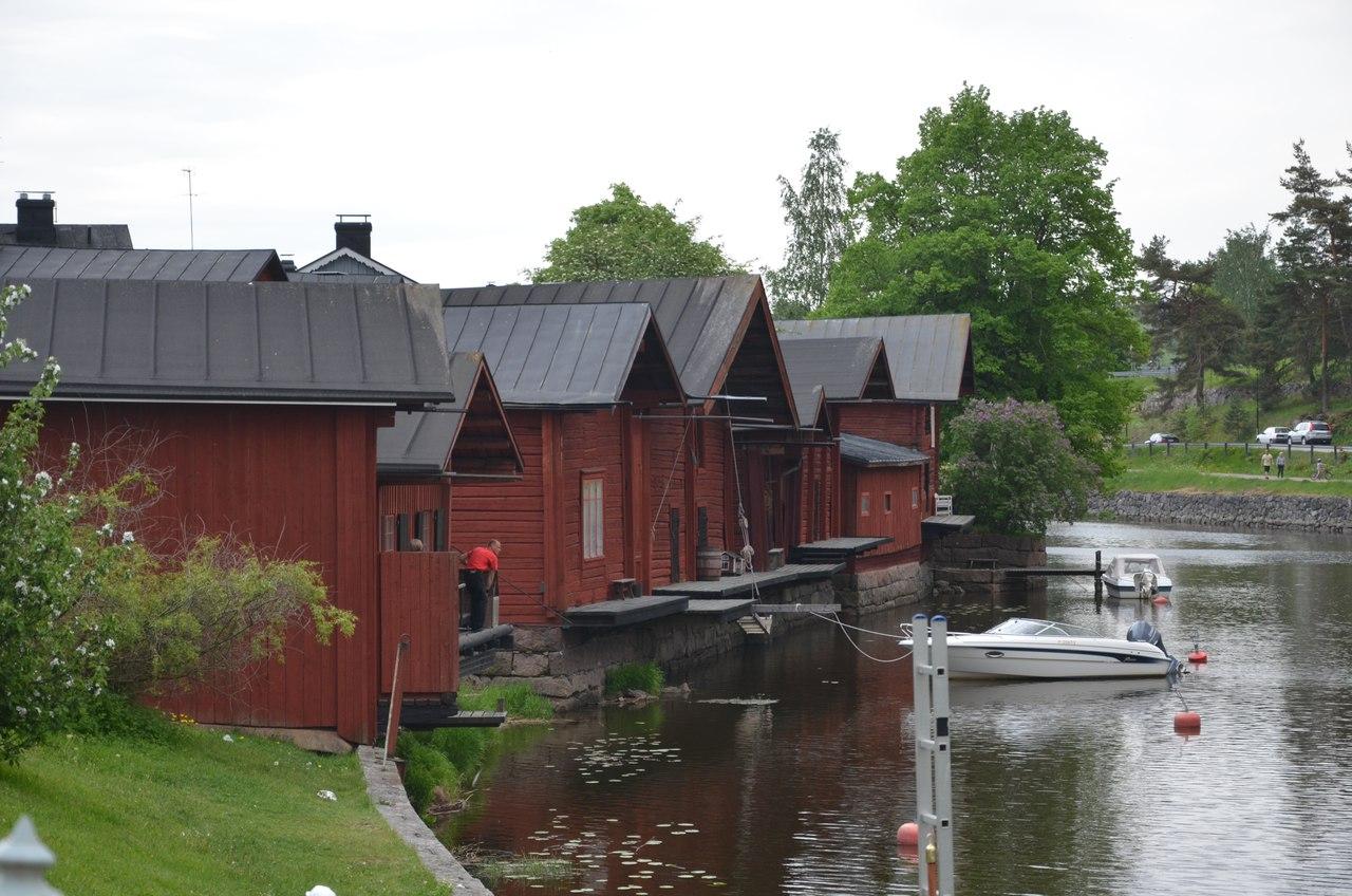 Lh6AQ7A3-A0 Порвоо - самый красивый средневековый город Финляндии.