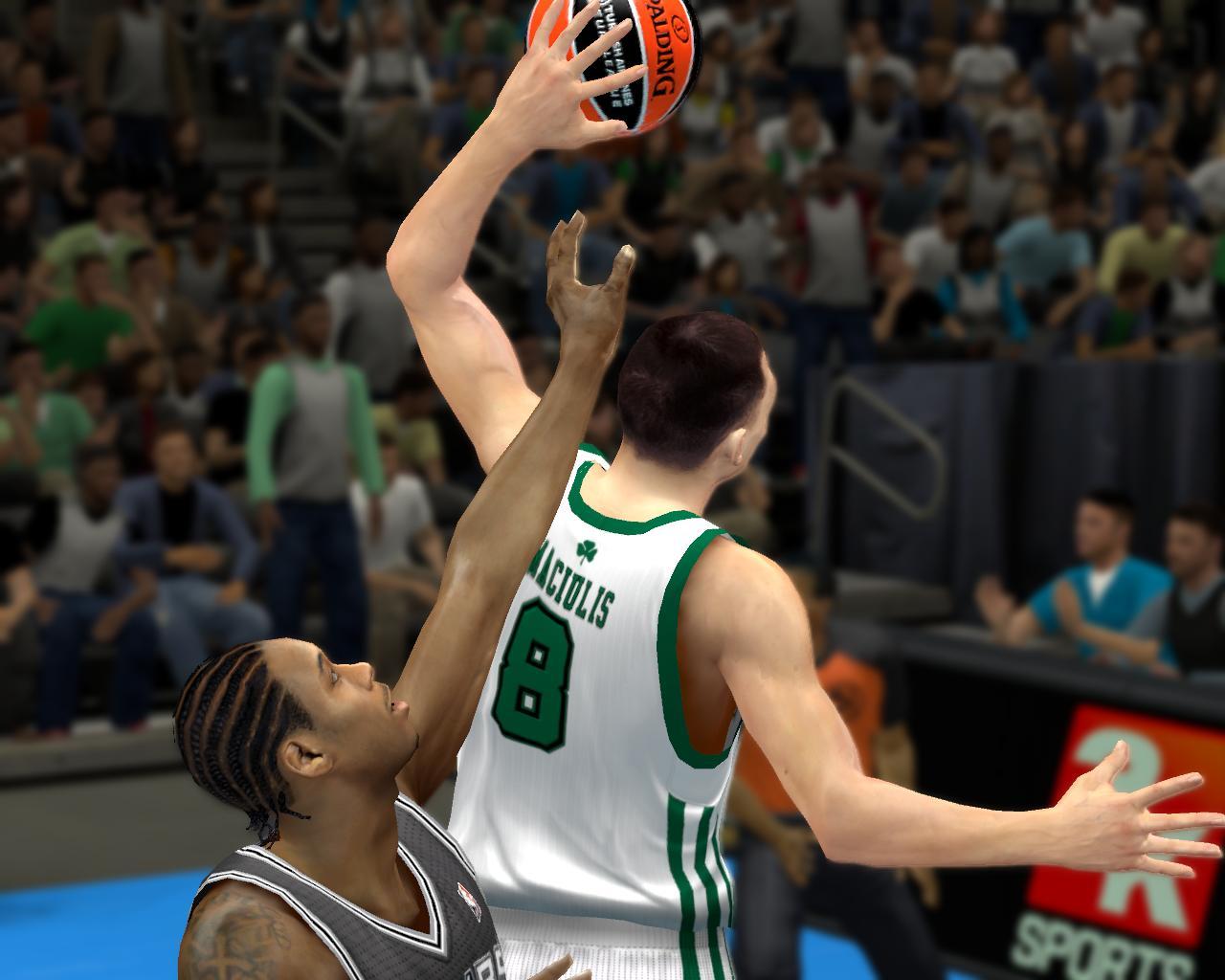 БК КИЕВ в НБА2К14