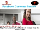 Will experts provide me the Facebook customer service? Toll free 1-888-514-9993