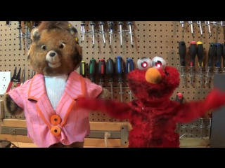 Undead Teddy Ruxpin and Elmo