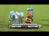 Танец шмеля и майонеза в перерыве футбольного матча на Урале