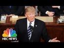 President Donald Trump's 2017 Joint Address To Congress: Full Speech | NBC News