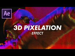 "Big Sean ""Sacrifices"" 3D Pixelgrid Effect (Music Videos) (Adobe After Effects CC 2017 Tutorial)"