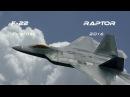 F 22 4K UHD Lockheed F 22 Raptor demo Airshow RIAT RAF Fairford 2016 What a Beast