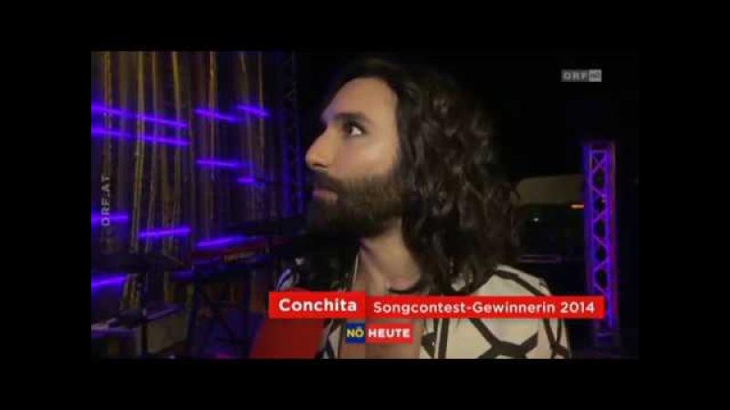 Conchita Wurst eröffnet Ybbsiade - 31.03.2017, Ybbs, ORF