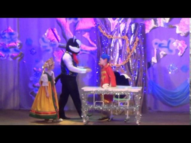 Новогодний переполох в 3D царстве - детская новогодняя программа 2017