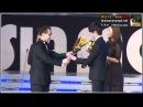 [영상] 정일우, 이연희 아시아 모델상 어워즈에서 패셔니스트상 수상