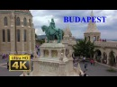 Budapest (Hungary) is one of the most beautiful cities in Europe - the pearl of the Danube - 4K