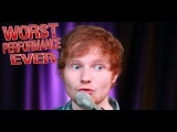 Ed Sheeran - Worst Performance Ever! - Shape of you - SHREDS!