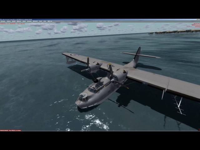 Prepar3D [P3D v3]   Aerosoft   PBY Catalina X   Cold and Dark   with checklist   VRM6 - VRMM