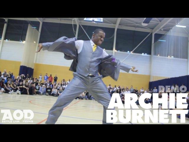 AOD 7 - 2013 | Archie Burnett : Waacking Demo