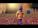 Outdoor Portrait Edit Child Photoshop cc Tutorial