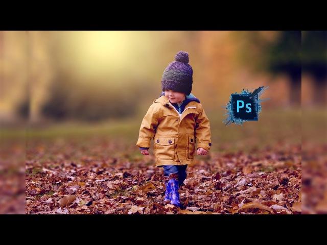 Outdoor Portrait Edit Child Photoshop cc Tutorial