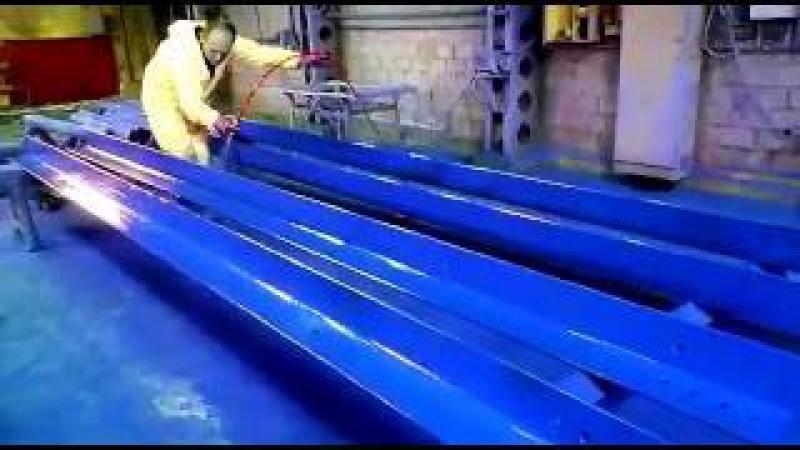 Hyvst Spt 670 окраска в цехе металлоконструкций