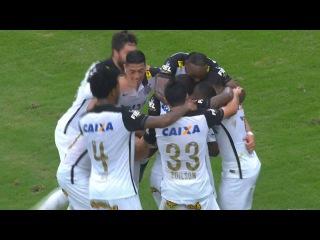 Gols de Atlético-PR 1-4 Corinthians - Brasileirão 2015