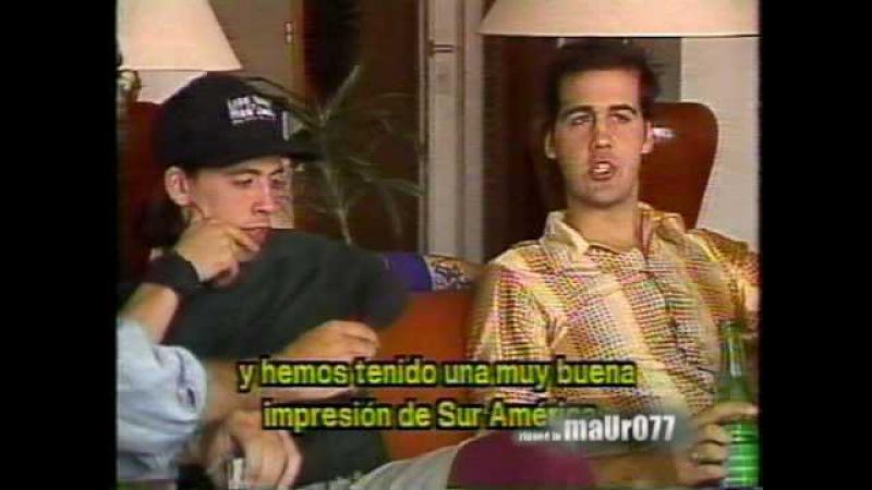 Nirvana en Argentina (Sabado Taquilla, TVChile) 1992