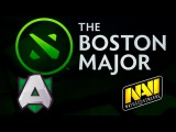 Alliance vs Na'Vi (bo1) | The Boston Major 2016 Dota 2