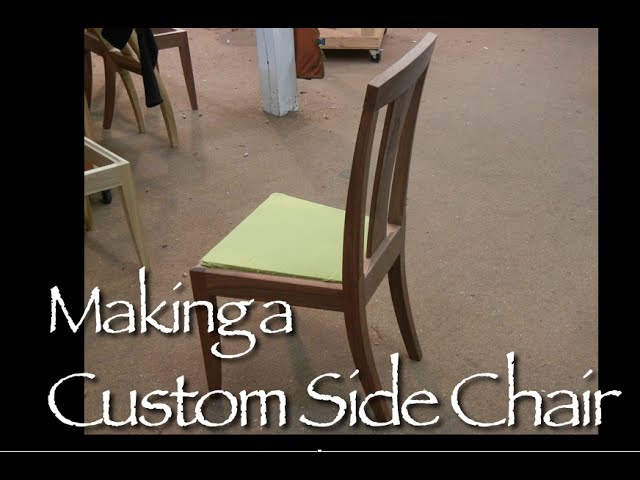 Custom Chair building process by Doucette and Wolfe Furniture Makers