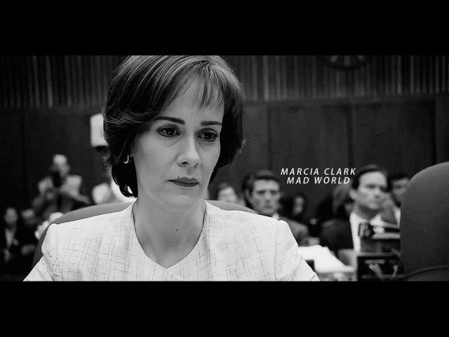 [American Crime Story] Marcia Clark || mad world.
