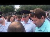 Сергей Полянский пытается сорвать митинг который одобрил лично