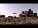 Watch the Syrian army artillery tamping positions during the fighting battles control the mountains of Shomria in ...