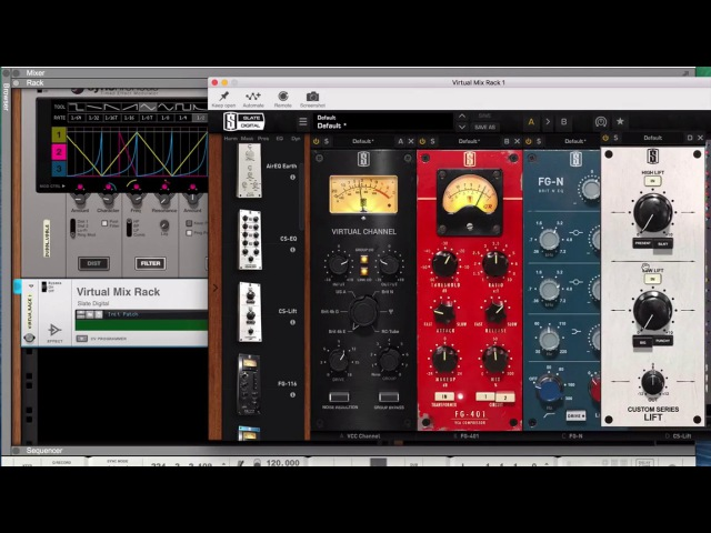 Reason 9.5 beta - playing with VSTs feat. Nexus, Slate VMR, Soundtoys, Reaktor