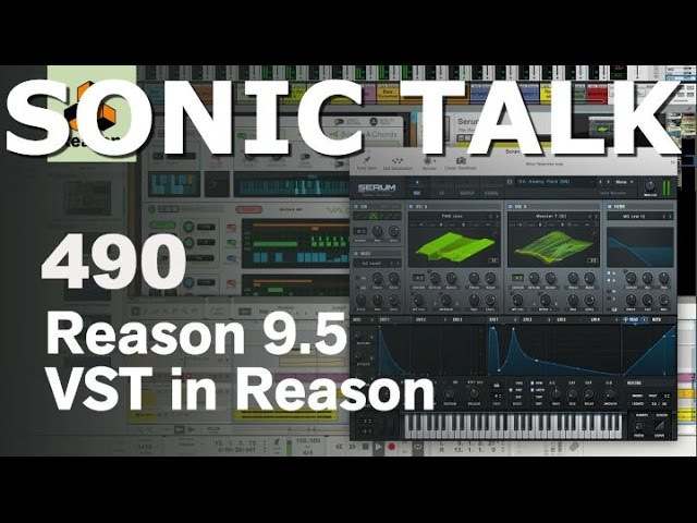 Sonic TALK 490 Fyre and Reason VST