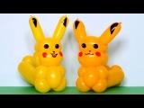 Покемон Пикачу из шаров / Pikachu pokemon of balloons (Subtitles)