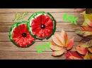 Мастер класс летние резинки Арбузы Master class bows watermelon O assistente fitas de melancia