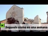 Segundo fuerte terremoto en Italia en una semana