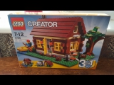 Собираем Lego Creator 5766 3 in 1 Log Cabin Второй домик - Стрим
