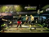 Школа бокса Good Old Boxing - Одиночные и двухударные комбинации разнотипных ударов(14.06.17)(Инста)