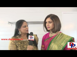Meenakshi Seshadri,Bollywood Actress speaking to Desiplaza TV in Dallas