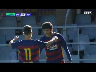 Лучший гол сезона 2015/16. Карлес Аленья (Барселона U-19)