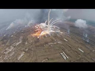 Взрывы боеприпасов в Балаклеии