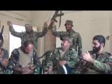Высокий моральный дух героев Национальной обороны провинции Хама в перерыве между боями