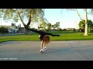SLs Crazy Strength  Flexibility Amazing Girl 15 year Old - Sofie Dossi