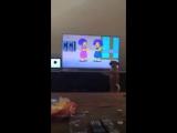Моя собака фанат мультфильмов