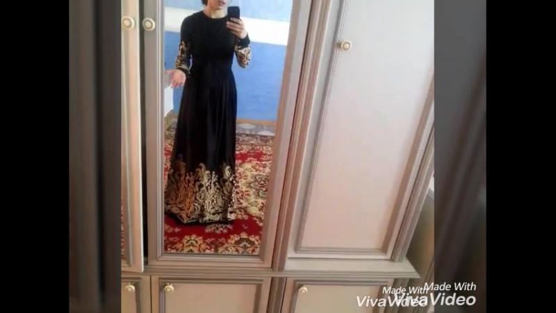 видеокоментарий по одному из платьев