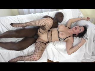 Sissy Neri - Italian Milf has black feeling and tests two black bulls IV068  mature | anal | sexwife | FM | FuckingMachines.com